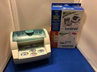 Brother Backster Lx-570 Multi Finisher Laminator Sticker Maker Magnet Back Lot