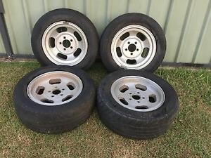 Early Holden Tyres and Rims Birkdale Redland Area Preview