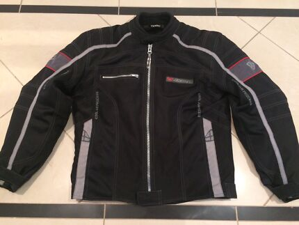 Ixon Vented Motorcycle Summer Jacket - Removable Quilted Liner