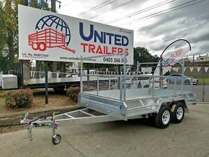 HEAVY DUTY GALVANISED Box Trailers 750KG - 3500kg ATM 7x5 ~ 12x6 Penrith Penrith Area Preview