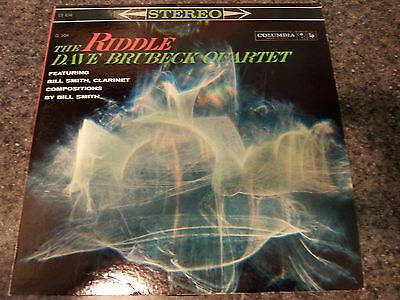 Dave Brubeck Quartet Featuring Bill Smith/The Riddle/1960 Columbia Records 12
