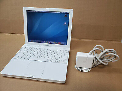 Apple Ibook G4 A1054 1.2 GHz  512Ram w/Tons of Vintage learning software