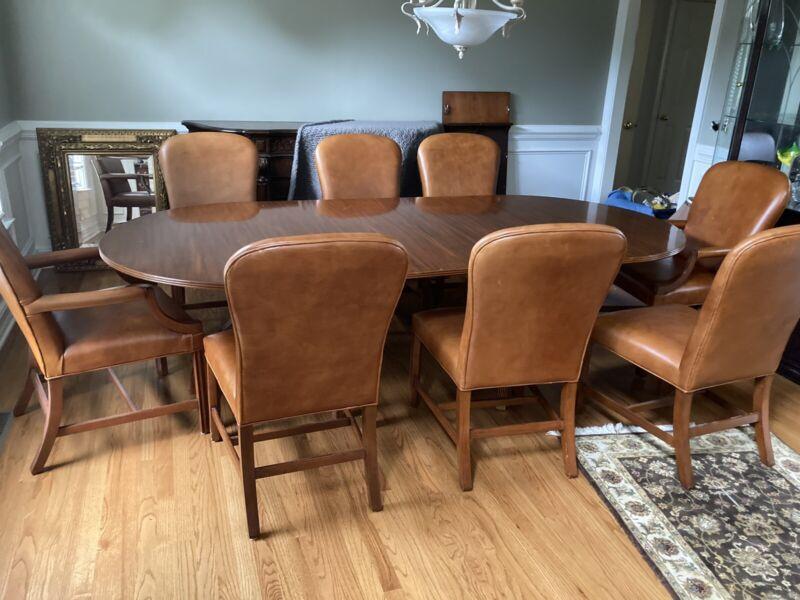ralph lauren dinning set 8 chairs