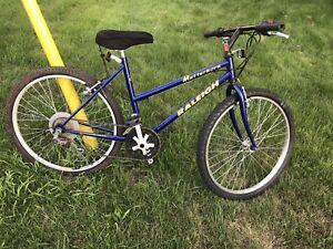 "Raleigh mountain bike Ladies 18 speed 26"" rim"