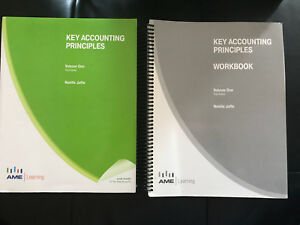 Key accounting principles with workbook Vol.1  3rd edition