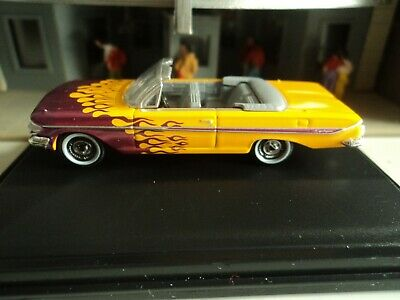 Oxford  1961 CHEVROLET  IMPALA  Conv.   Hot Rod   1/87  HO  diecast car   GM