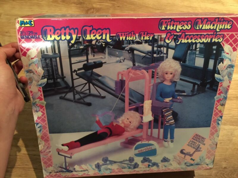Betty Teen Fitness Machine - New