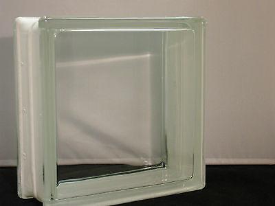 Glasbaustein Glasstein Vollsicht Weiß Klar 19 x 19 x 8 - 1 sorte 19x19x8 BM1908G