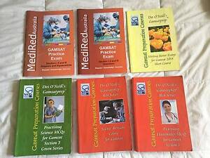 Des O'Neill Gamsatprep (4 books) + GAMSAT practice exam/answers Coorparoo Brisbane South East Preview