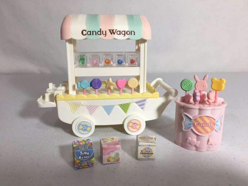 Calico critters/sylvanian families Candy Wagon