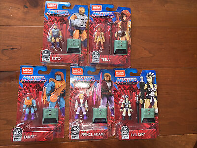 Mega Construx Masters of the Universe (Lot of 5) New