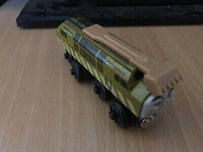 2000 Authentic Britt Allcroft Wooden Thomas Train Magic Railroad Diesel 10!