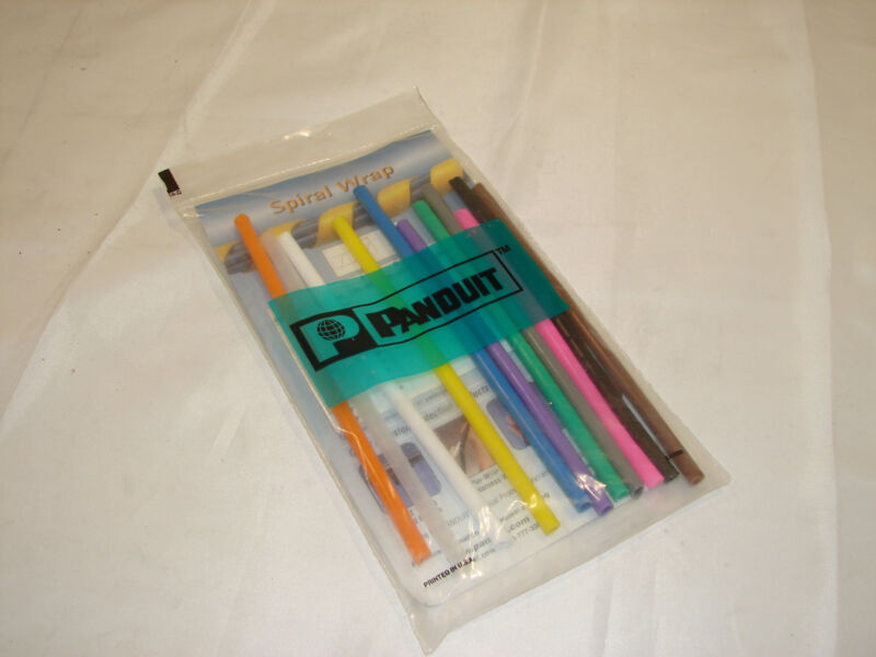 PANDUIT T25FCOL-INST SPIRAL WIRE WRAP (BAG OF 11)***NIB***