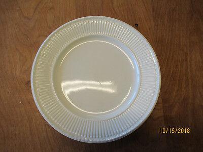 Wedgwood England EDME GOLD TRIM Dinner Plate & Cereal Bowl 2 pcs England Gold Trim