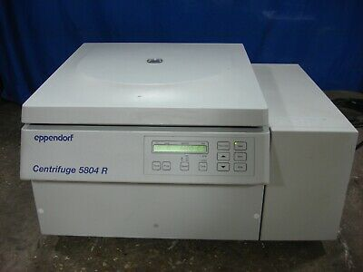 Eppendorf 5804r 14000 Rpm Benchtop Refrigerated Centrifuge F45-30-11 Rotor