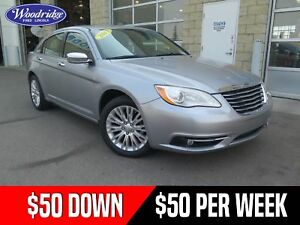2013 Chrysler 200 Limited 50/50 SALE!