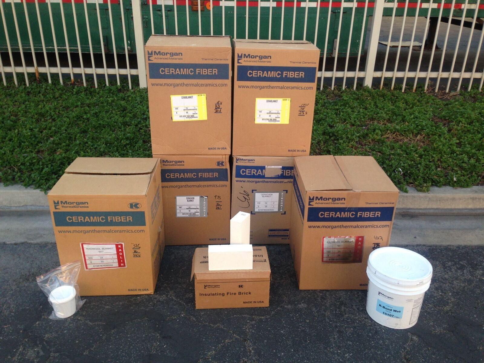 Morgan Thermal Ceramics Izayncom 2quot Ceramic Fiber Insulation Blanket Kaowool Rt 2300f 8