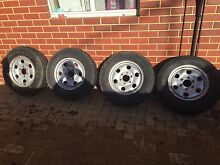 4 16x6 small 4x4 rims with tyres Erskine Mandurah Area Preview