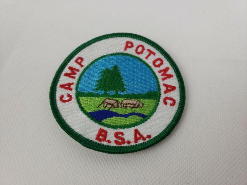 Boy Scout Patch Camp Potomac BSA Scouts Patch Green Trim