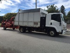 Morbark 18 inch wood chipper and tipper truck for hire Armadale Armadale Area Preview