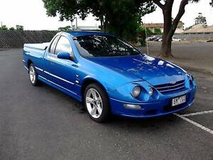 2002 AU III Ford Falcon XR6  VCT Ute Bacchus Marsh Moorabool Area Preview
