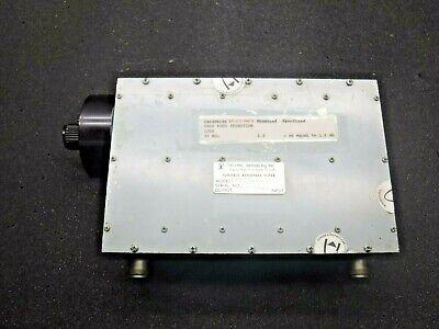 Telonic Berkeley Tunable Bandpass Filter Model Ttf72-5-5ee
