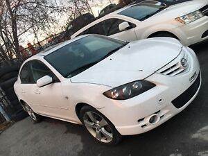 Mazda 3 2006 Gt cuire,toit ouvrant et mags