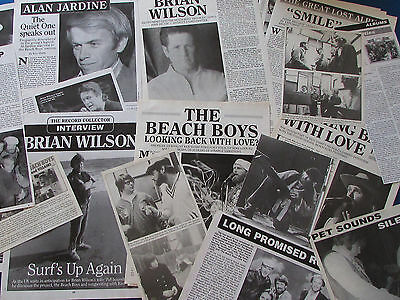 Joblot of Articles & Cuttings - The Beach Boys