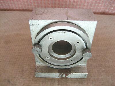 Spin Index Block 5x5x5 34 Taper Bore Machinist Precision Tool 22 Lbs 910x