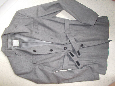 Wolle Flanell Jacke (Blazer,Jacke,Toni Gard,grau,Flanell,Wolle,Impressionen,nice,Designer,rar,Luxus)