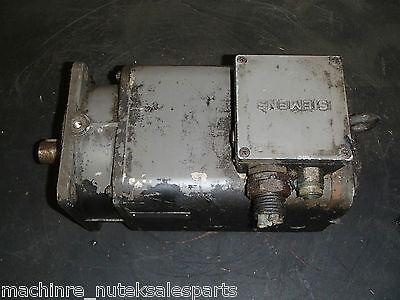 Siemens Cincinnati Permanent Magnet Motor 1ft5102-0ac01-z 1fu1050-6ac No Z