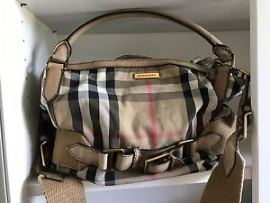 Authentic Burberry large bag Perth Perth City Area Preview