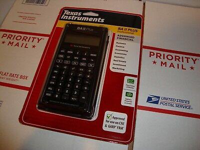 Texas Instruments TI BA II Plus Professional Business Calculator Financial NEW