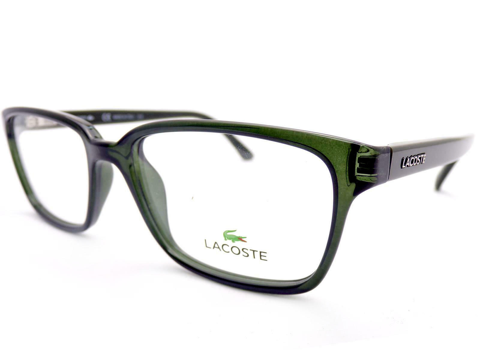 LACOSTE unisex Dark Green 53mm Optical RX Spectacles Glasses