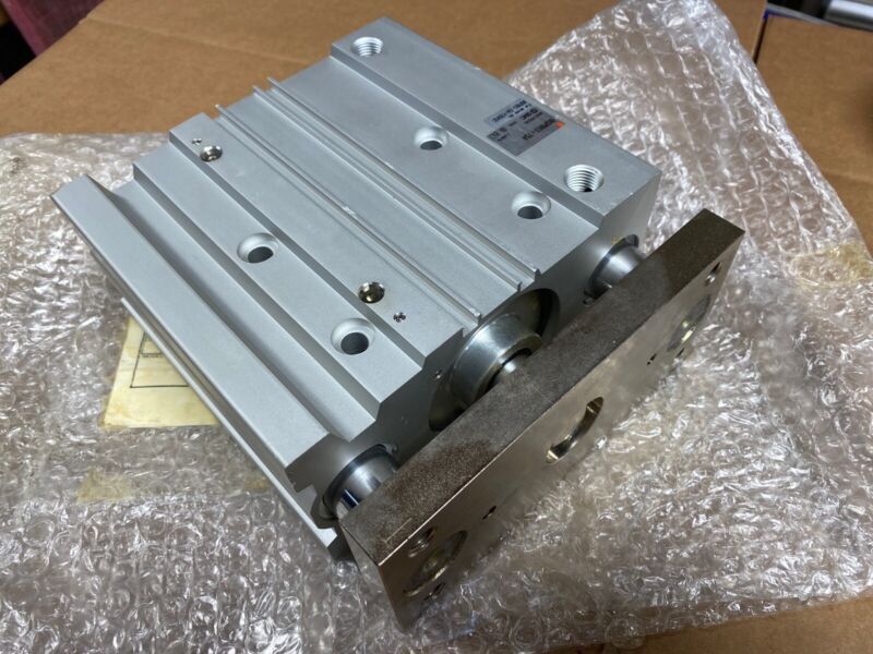 NEW SMC PNEUMATIC GUIDE SLIDE CYLINDER MGPM63-75A Fast Shipping