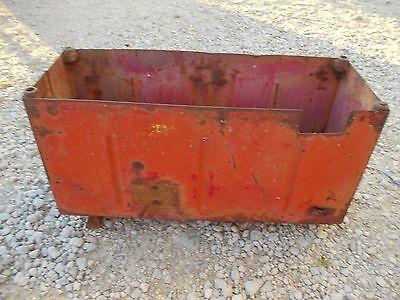 International 460 Utility Tractor Original Ih Ihc Battery Box Hard To Find