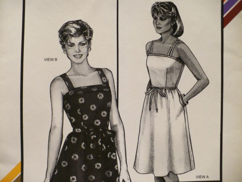 Stretch & Sew #1574 Camisole Sundress Pattern by Ann Person Sz 30-46