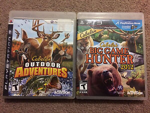 Cabela's Game and GTA 5 for PS3 LIKE NEW!!