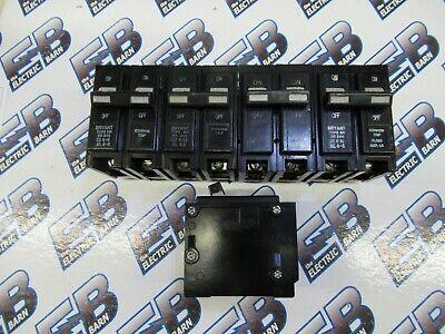 Bryant Br240 Lot Of 5 40 Amp 2 Pole 240 Volt Circuit Breaker- Warranty