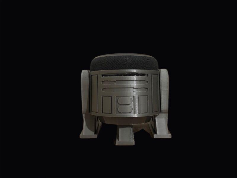 R2D2 Alexa Echo Dot 3rd Gen Stand, 3d Printed