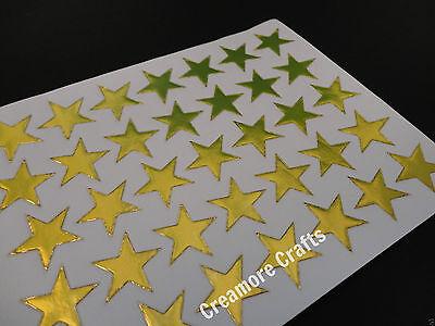 100 GOLD STARS SCHOOL TEACHER OFFICE MERIT REWARD STICKERS SELF ADHESIVE