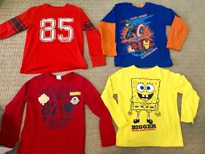Boys size 6 brand name various clothes(tops)