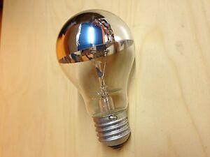 100 watt special crown mirror reflector light bulb edison. Black Bedroom Furniture Sets. Home Design Ideas