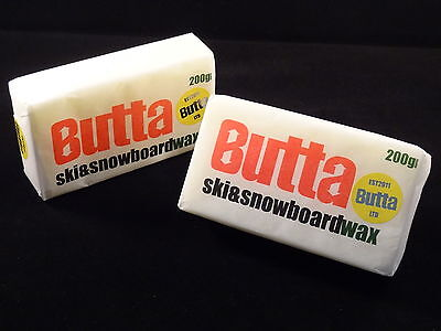 Butta Original Ski & Snowboard Wax 200g Twin Pack