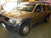 2006 Holden Rodeo V6 LX 4X4 Dual Cab Ute $9,950 / $52pw Wangara Wanneroo Area Preview