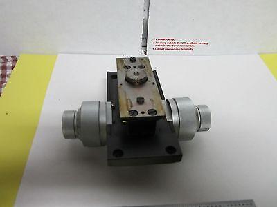 Microscope Part Leitz Wetzlar Stage Micrometer Ortholux Optics As Is Binh8-22