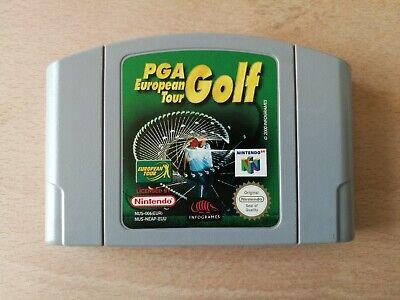 PGA European Tour Golf N64 (Nintendo 64, 2000) RARE Cartridge Only
