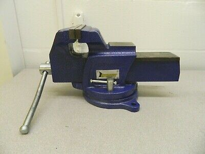 Interstate Cast Iron Swivel Bench Vise 4-1516 Opening Cap 6jaw Width 09207861