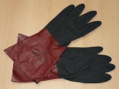 6 Paar Chemikalien- Schutzhandschuhe Gr. 9 Ansell AlphaTec 58-535 Handschuhe