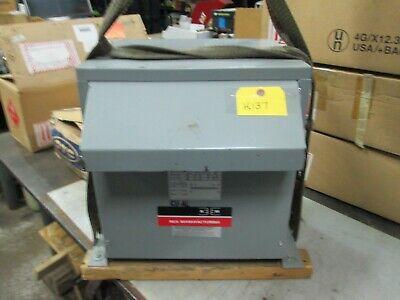 Rex Transformer Cat Sc10h1k4e3r Kva 10 1 Phase Pri Sec Volts 460 New